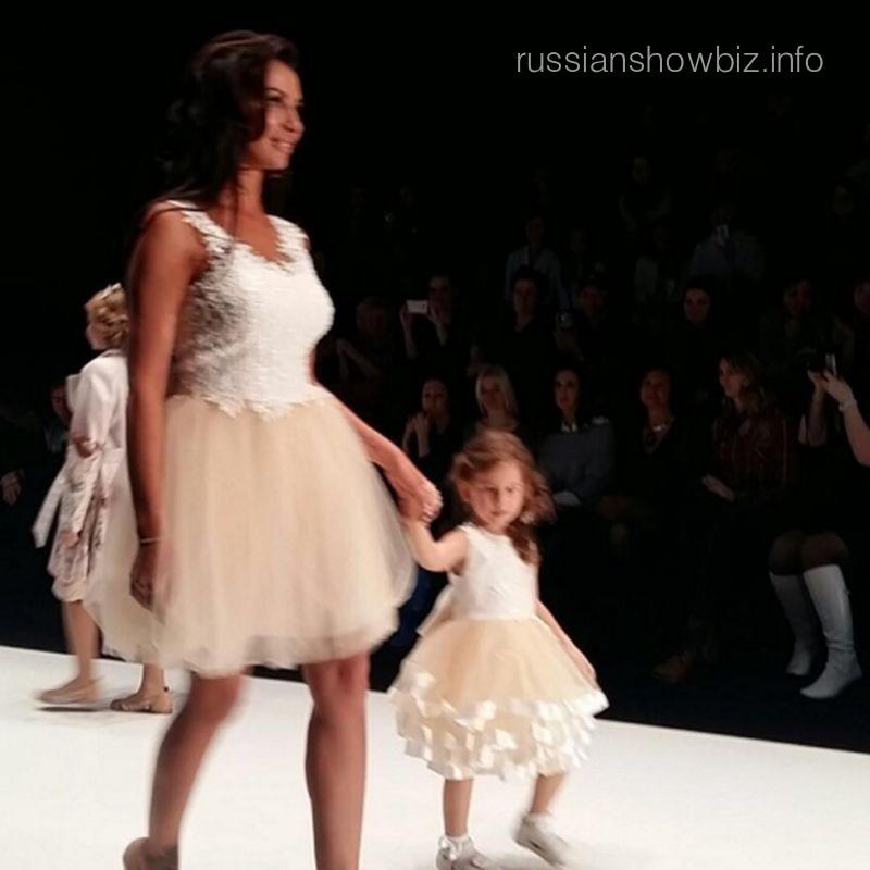 Анна Грачевская с дочерью