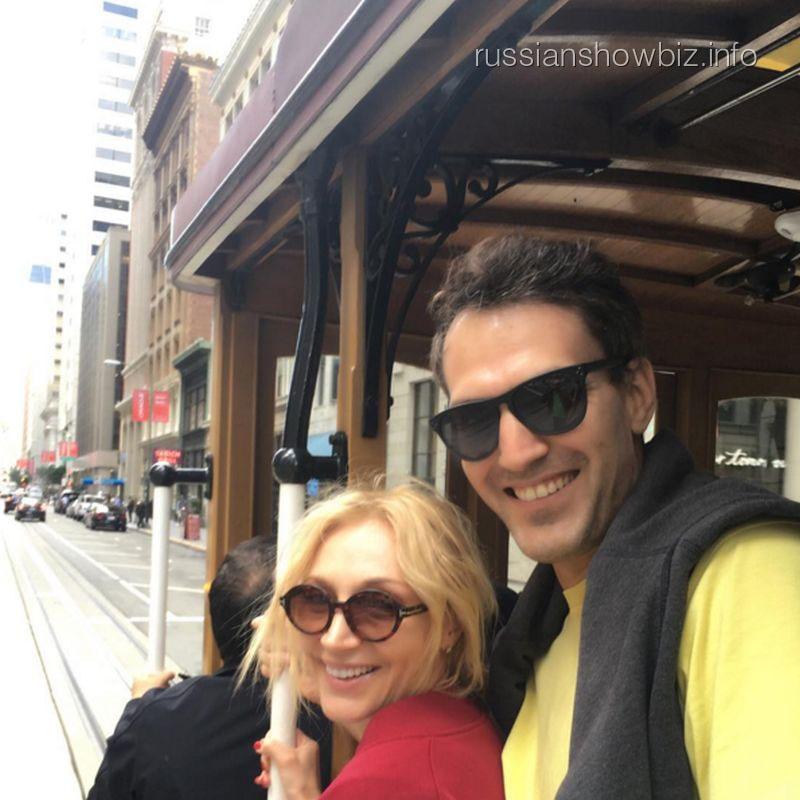 Кристина Орбакайте с мужем