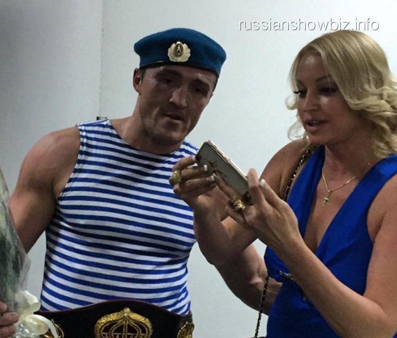 Денис Лебедев и Анастасия Волочкова
