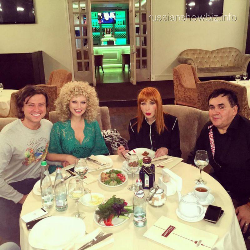 Прохор Шаляпин, Лена Ленина, Татьяна Васиьлева и Станислав Садальский
