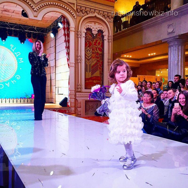 Таня Терешина с дочерью