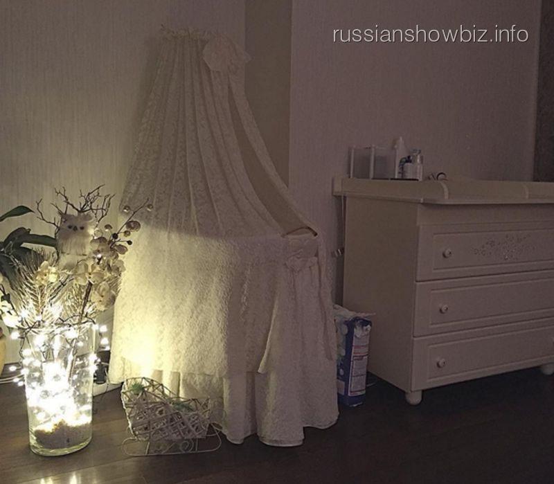 Люлька для ребенка Ксении Бородиной