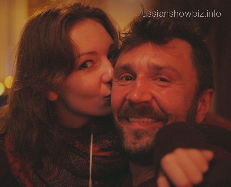 Сергей Шнуров с дочерью
