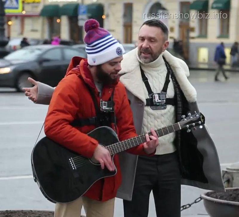 Евгений Башкиров и Сергей Шнуров