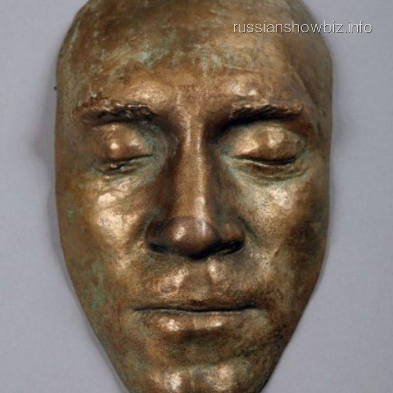 Посмертная маска Владимира Высоцкого