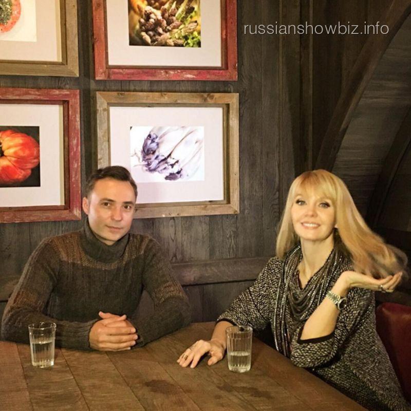 Валерия на интервью