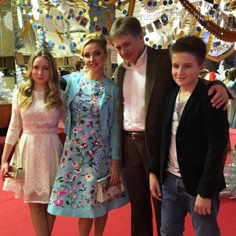 Татьяна Навка с дочерью на Bosco-бале