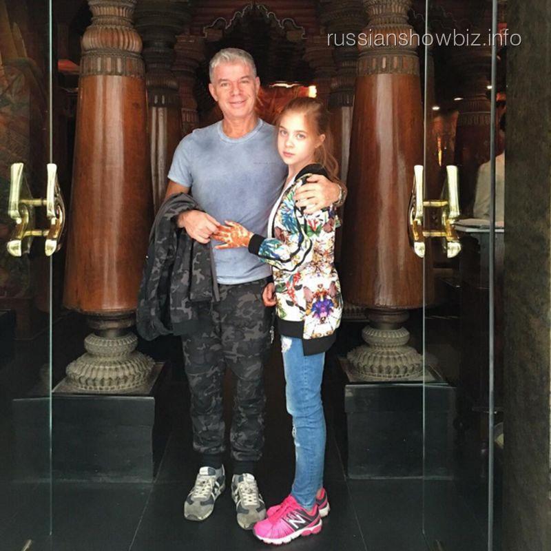 Олег Газманов с дочерью
