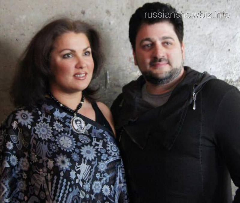 Анна Нетребко с возлюбленным
