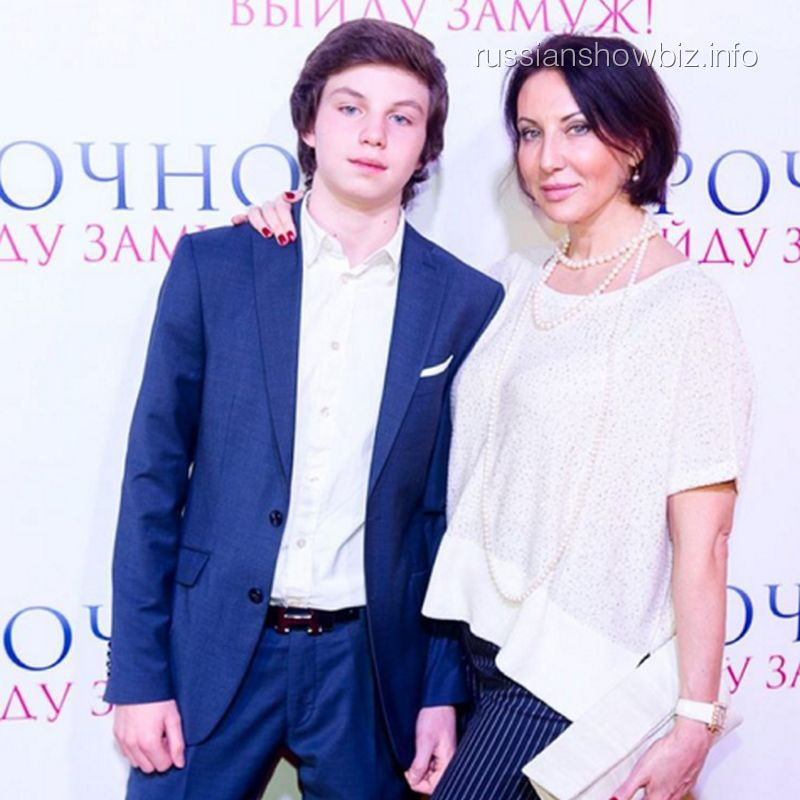 Алика Смехова с сыном