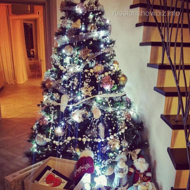 Новогодняя елка Юлии Ковальчук