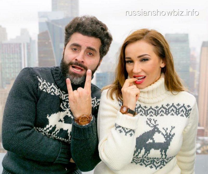 Анфиса Чехова с мужем