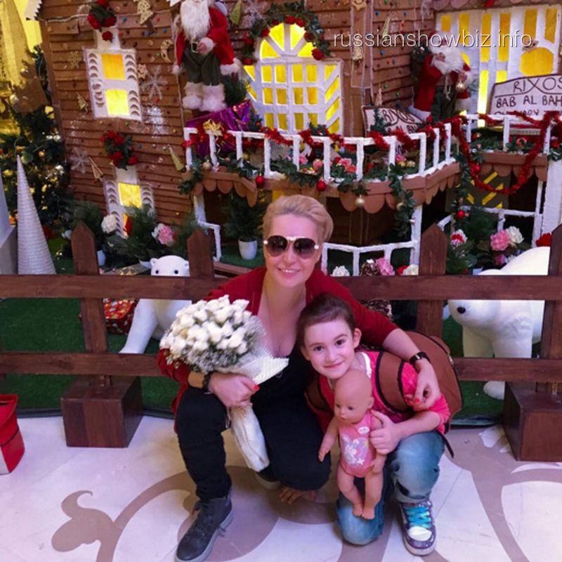 Катя Лель с дочерью