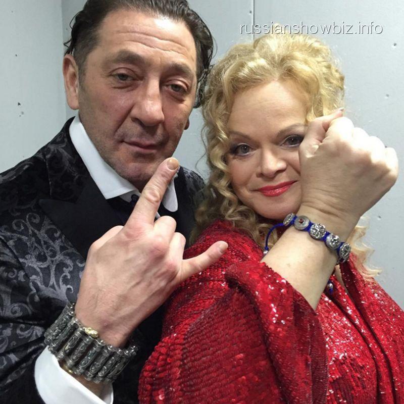 Григорий Лепс и Лариса Долина