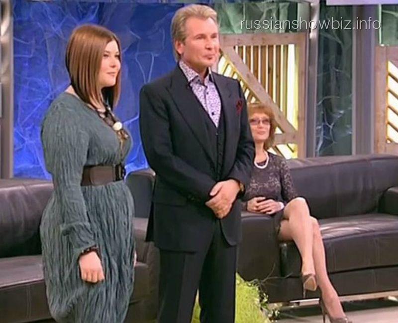 Александр Малинин с дочерью и бывшей женой