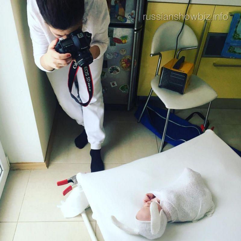 Фотосессия сына Стаса Костюшкина