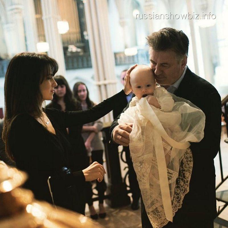 Алек Болдуин с сыном