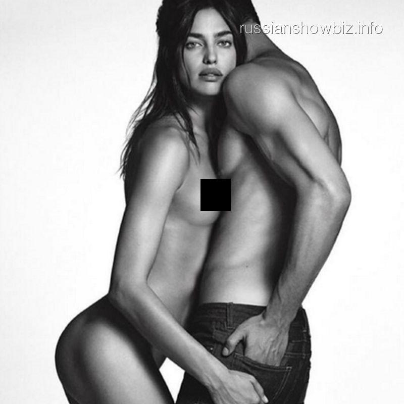 1-ый взгляд: Ирина Шейк снялась врекламе джинсов Givenchy