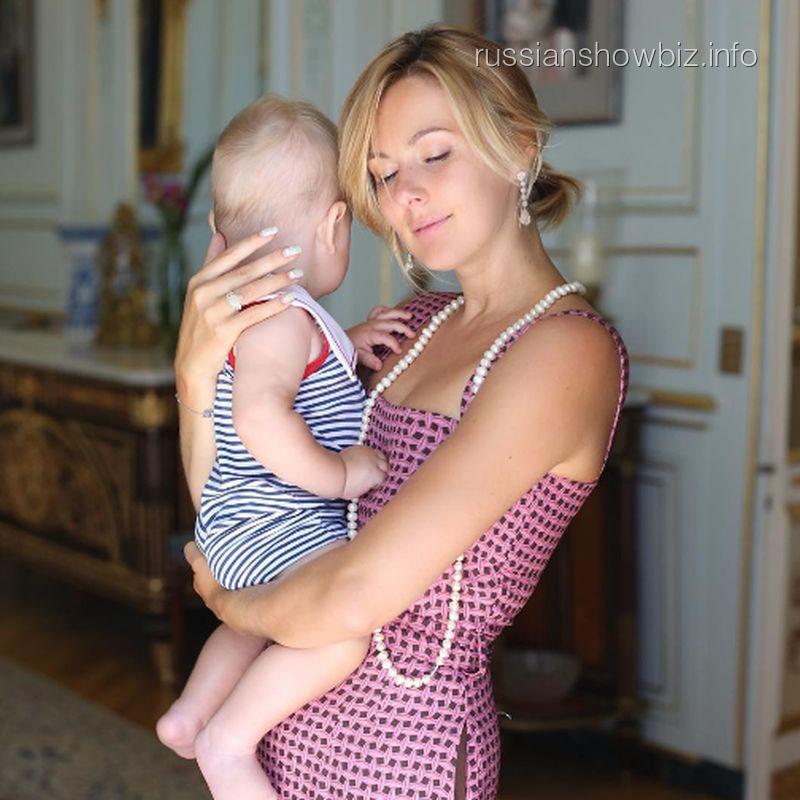 Мария Кожевникова с сыном