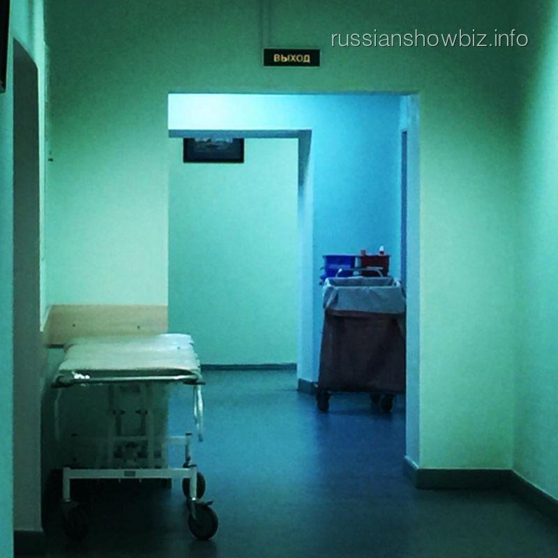 Анна Нетребко в больнице