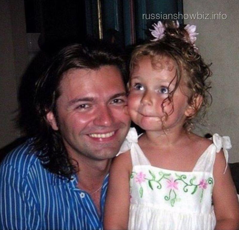 Дмитрий Маликов с дочерью