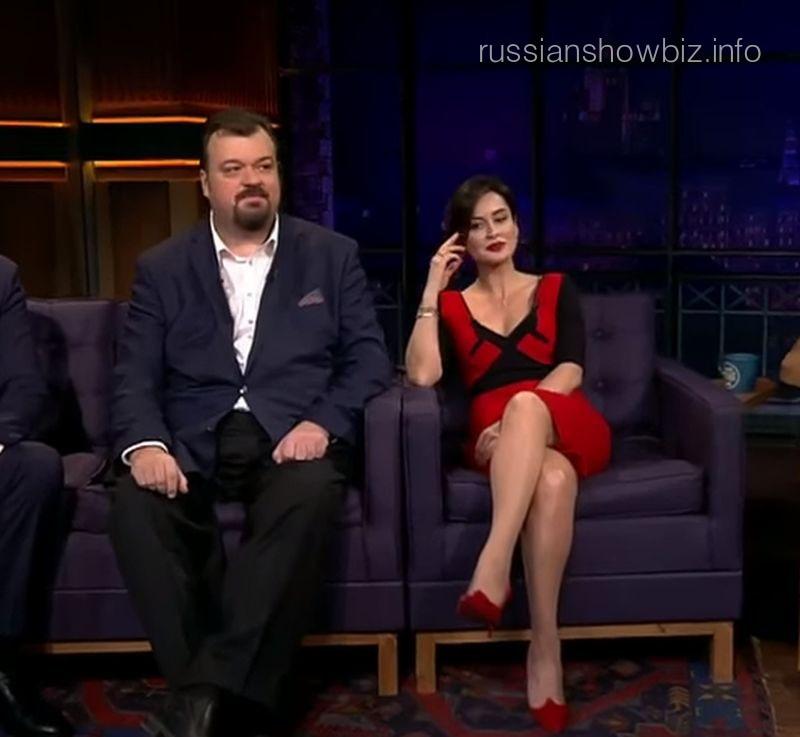 Василий Уткин и Тина Канделаки
