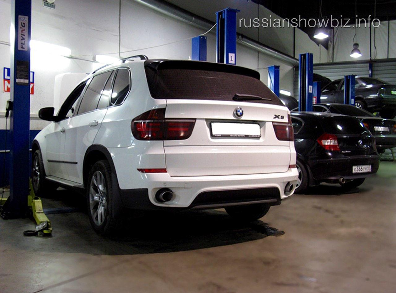 Автомобиль Алексея Панина