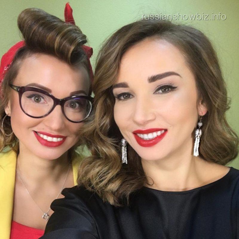 Марина Аристова и Анфиса Чехова
