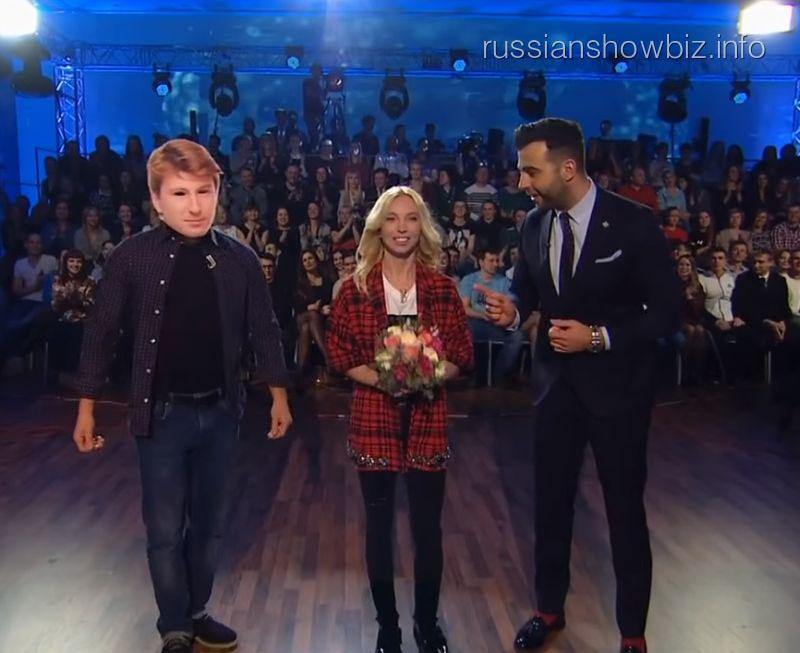 Илья Авербух, Татьяна Тотьмянина и Иван Ургант