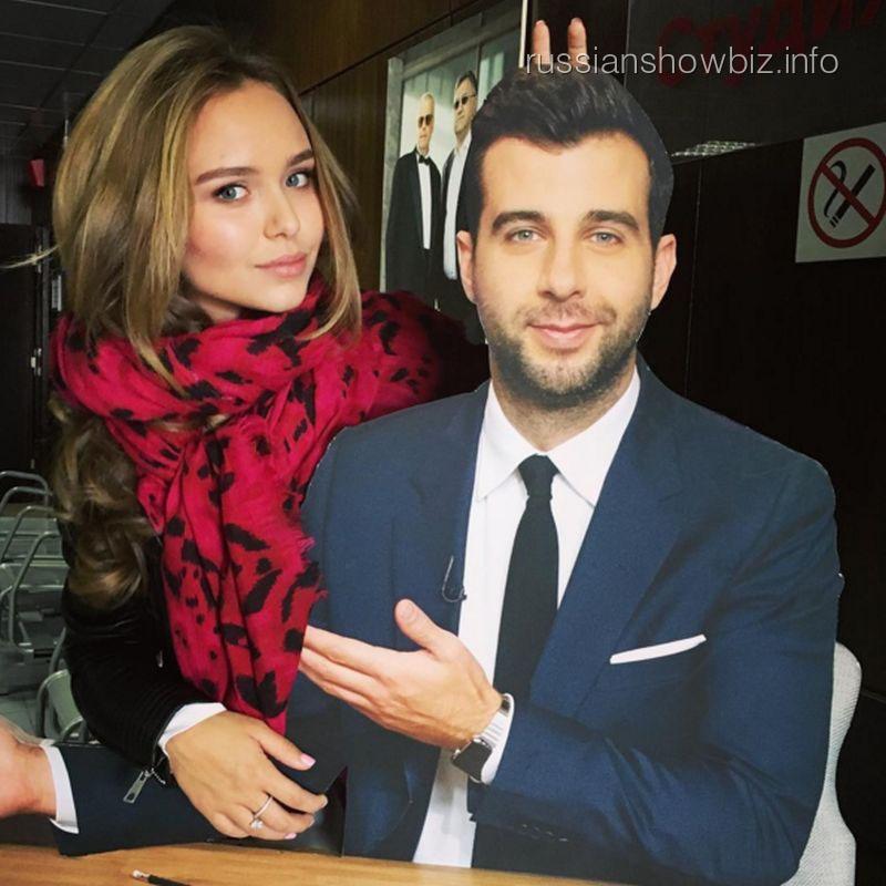 Стефания Маликова и Иван Ургант