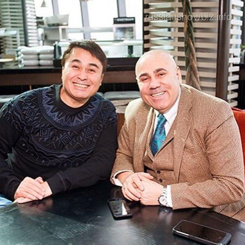 Арман Давлетяров и Иосиф Пригожин