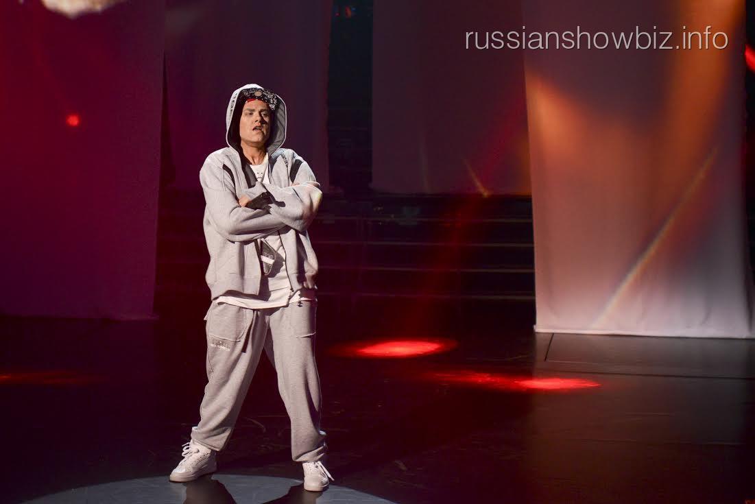 Юлия Паршута в образе Эминема