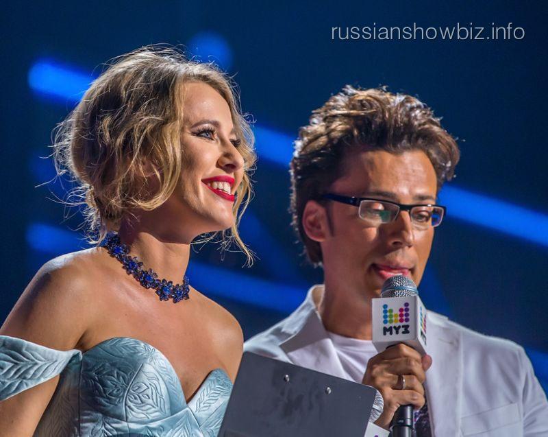 Ксения Собчак и Максим Галкин