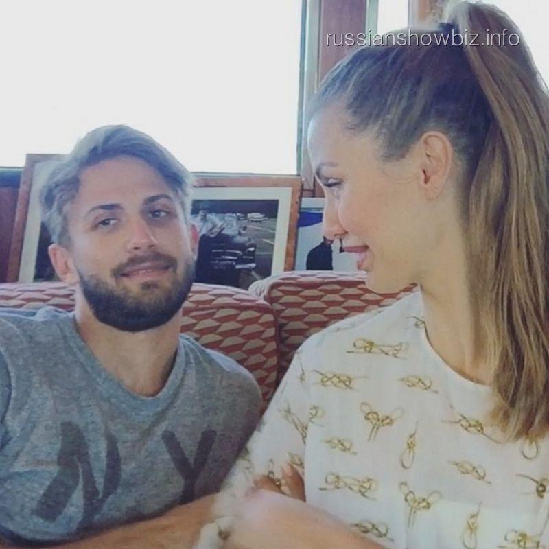 Виктория Боня с мужем