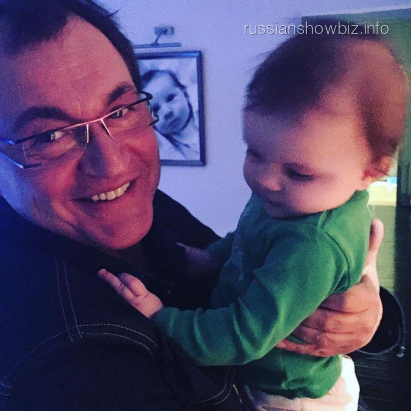Дмитрий Дибров с сыном