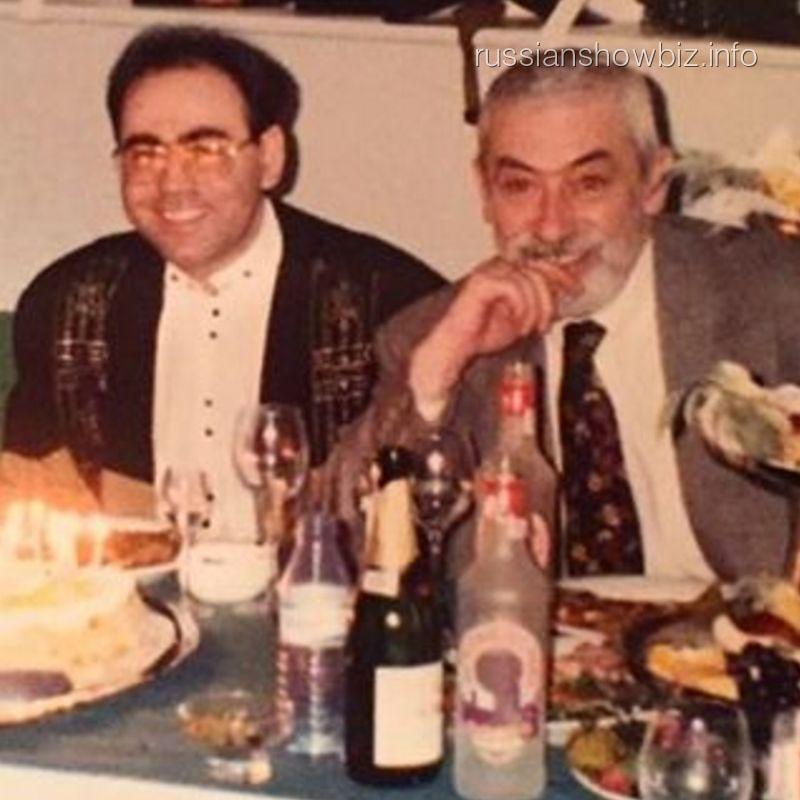 Иосиф Пригожин и Вахтанг Кикабидзе