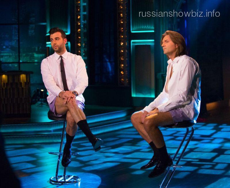 Иван Ургант и Дмитрий Маликов
