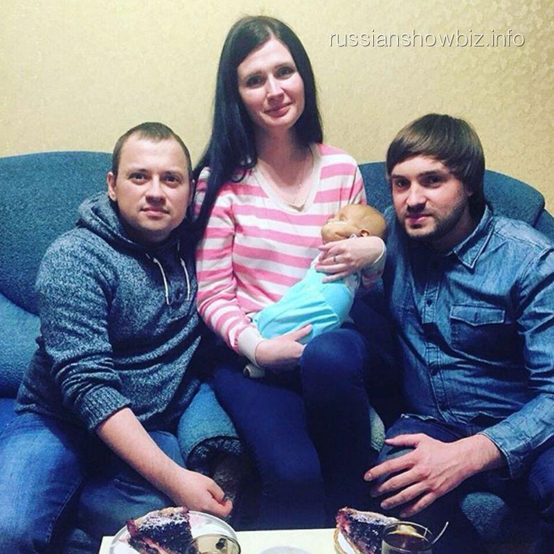 Андрей Гайдулян с семьей Прохоровых