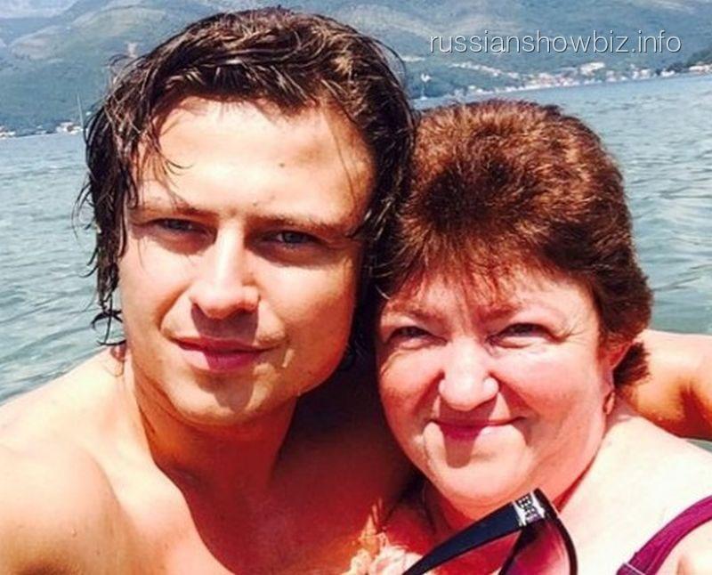 Прохор Шаляпин с мамой