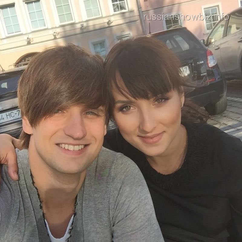 Дмитрий Колдун с женой