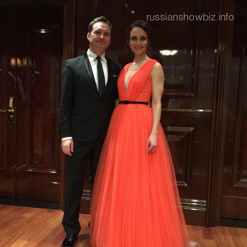 Анна Снаткина с мужем