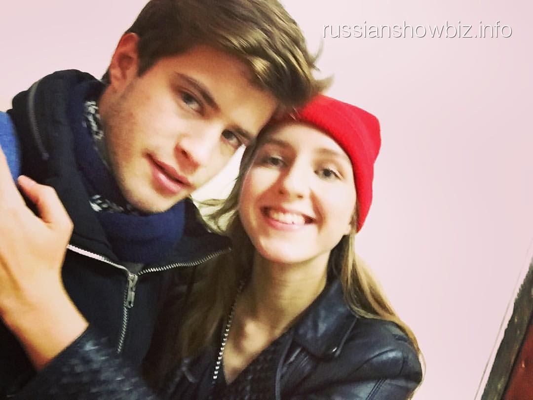 Полина Виторган с возлюбленным