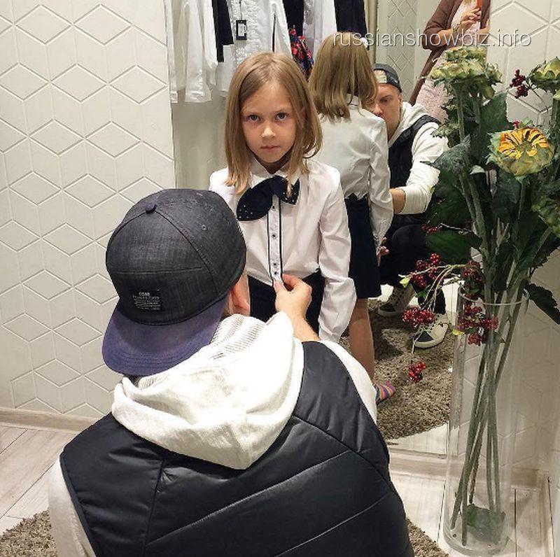 Сергей Светлаков с дочерью