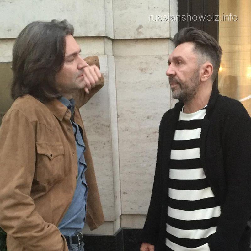 Дмитрий Маликов и Сергей Шнуров