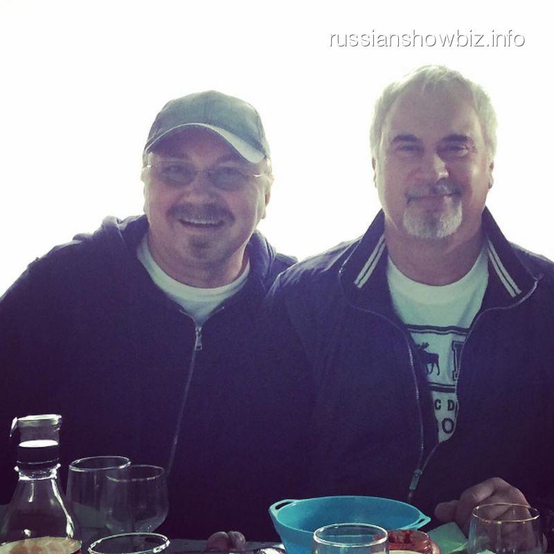 Игорь Николаев и Валерий Меладзе