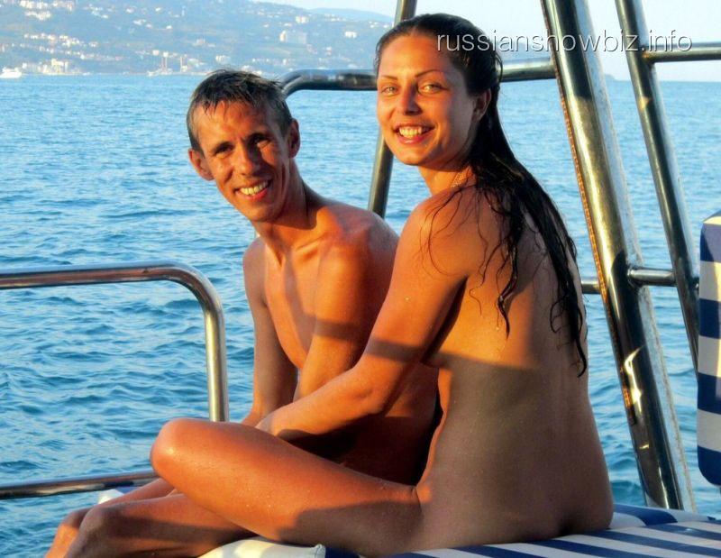 Алексей Панин с бывшей женой