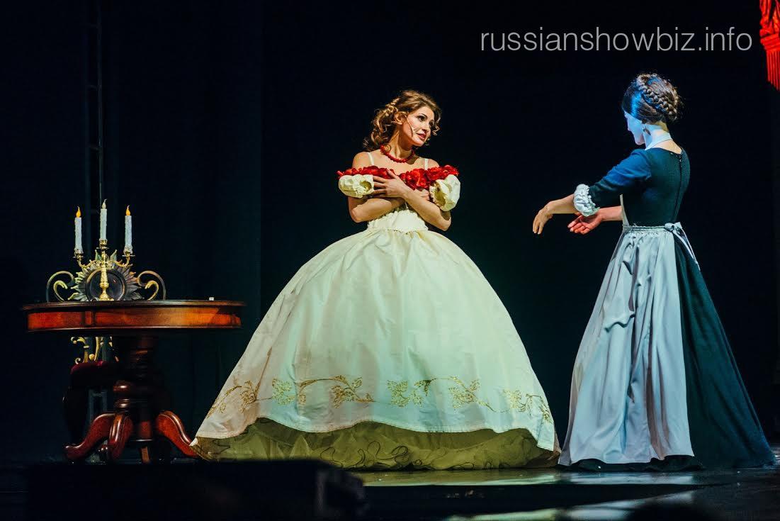 Анастасия Макеева в роли Татьяны Лариной