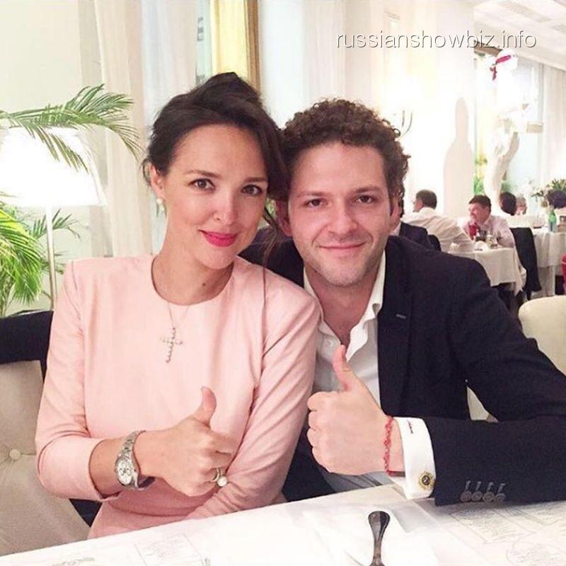 Константин Крюков с женой