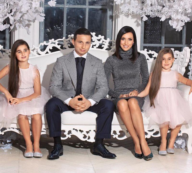 Алсу с семьей