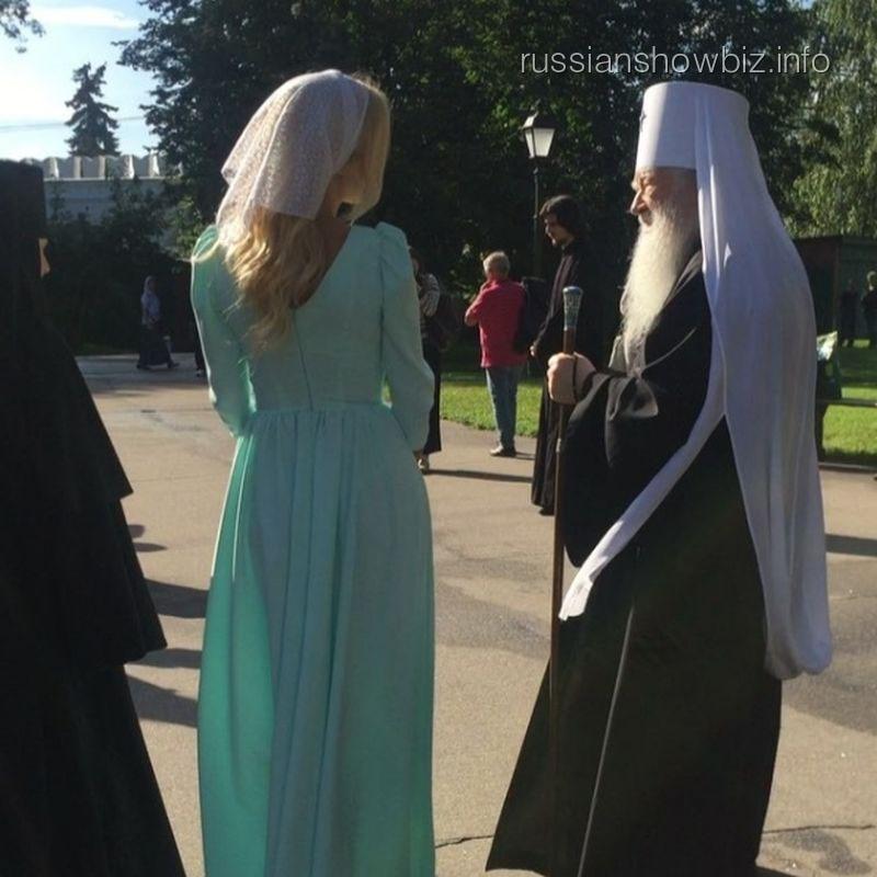 Виктория Лопырева и митрополит Ювеналий